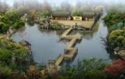 建筑园林效果 4 15 建筑园林效果 建筑壁纸