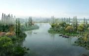 建筑园林效果 4 9 建筑园林效果 建筑壁纸