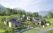 建筑园林效果 6 6 建筑园林效果 建筑壁纸