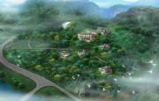 建筑园林效果 6 4 建筑园林效果 建筑壁纸