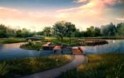 建筑园林效果 9 20 建筑园林效果 建筑壁纸