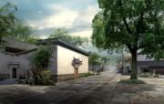建筑园林效果 9 14 建筑园林效果 建筑壁纸