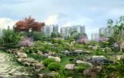 建筑园林效果 9 3 建筑园林效果 建筑壁纸