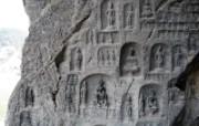 龙门石窟 2 6 龙门石窟 建筑壁纸