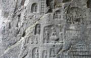 龙门石窟 2 5 龙门石窟 建筑壁纸