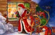 圣诞节装饰 壁纸8 圣诞节装饰 建筑壁纸
