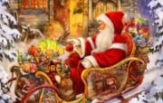 圣诞节装饰 壁纸9 圣诞节装饰 建筑壁纸