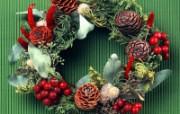 圣诞节装饰 壁纸13 圣诞节装饰 建筑壁纸