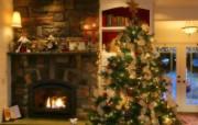 圣诞节装饰 壁纸18 圣诞节装饰 建筑壁纸