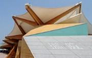 世博场馆剪影 建筑壁纸