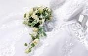 新婚专用 婚礼婚戒鲜花温馨壁纸 壁纸4 新婚专用:婚礼婚戒鲜 建筑壁纸