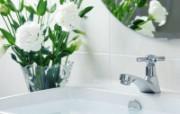 浴室温馨家居摄影壁纸 壁纸25 浴室温馨家居摄影壁纸 建筑壁纸