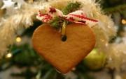 2007 缤纷圣诞树装饰挂件 节日壁纸