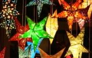 2007圣诞夜二圣诞夜景与圣诞灯饰 节日壁纸