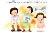 2008年6月月历壁纸儿童节 2008年6月月历壁纸儿童节 节日壁纸