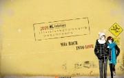 2009年2月韩国月历壁纸 2009年2月韩国月历壁纸 节日壁纸