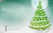 2009圣诞节和新年快乐壁纸 2009圣诞节和新年快乐壁纸 节日壁纸