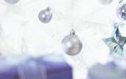 白色圣诞 浪漫圣诞气氛壁纸 白色圣诞 浪漫圣诞气氛壁纸 节日壁纸