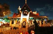 迪士尼万圣节之夜迪斯尼乐园万圣节壁纸 节日壁纸