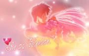 粉红浪漫情人节 节日壁纸