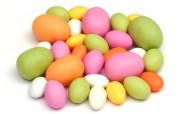 复活节彩色糖果壁纸 复活节壁纸 彩蛋与装饰 节日壁纸