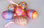 复活节彩蛋挂饰 复活节壁纸 彩蛋与装饰 节日壁纸