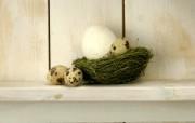 复活蛋 复活节装饰壁纸 复活节壁纸 彩蛋与装饰 节日壁纸