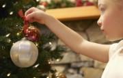 欢度圣诞家庭人物主题壁纸 欢度圣诞家庭人物主题壁纸 节日壁纸