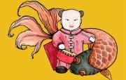 欢乐鼠年新春桌面壁纸 节日壁纸
