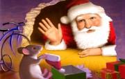 绘本老鼠过圣诞《The Mouse Before Christmas》 节日壁纸