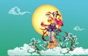 中秋嫦娥 节日壁纸