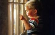 金色童年 法国画家 Donald Zolan 儿童水彩画集 一 儿童节主题 儿童水彩画壁纸 金色童年儿童水彩画集一 节日壁纸
