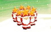 可爱温馨圣诞插画壁纸 可爱圣诞老人壁纸 可爱温馨圣诞壁纸 节日壁纸