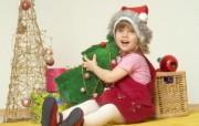 快乐圣诞节圣诞人物主题摄影二 节日壁纸