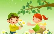 快乐童年快乐六一儿童节壁纸 节日壁纸