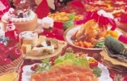 浪漫圣诞之美食篇 节日壁纸
