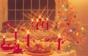 浪漫圣诞之烛光篇 节日壁纸