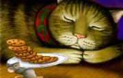 老鼠过圣诞专辑 老鼠过圣诞壁纸 节日壁纸