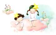 梦幻童年卡通壁纸 梦幻童年卡通壁纸 节日壁纸