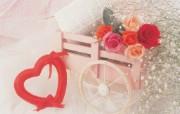 情人节奉献浪漫玫瑰花壁纸 节日壁纸