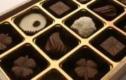 情人节巧克力 节日壁纸