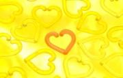 情人节心形物件宽屏壁纸 情人节心形物件宽屏壁纸 节日壁纸