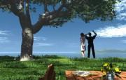 情人节专题之情侣3D壁纸 情人节专题之情侣3D壁纸 节日壁纸