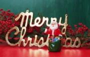 圣诞节壁纸缤纷圣诞装饰 节日壁纸