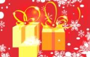 圣诞礼物 圣诞节简约线条图案 圣诞节简约矢量背景 节日壁纸