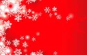 圣诞雪花 圣诞节简约线条图案 圣诞节简约矢量背景 节日壁纸