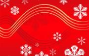 圣诞节抽象花纹 圣诞节简约线条图案 圣诞节简约矢量背景 节日壁纸