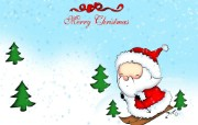 圣诞节可爱桌面壁纸 节日壁纸