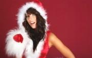 圣诞女孩 1 19 圣诞女孩 节日壁纸