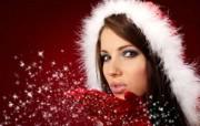 圣诞女孩 1 9 圣诞女孩 节日壁纸